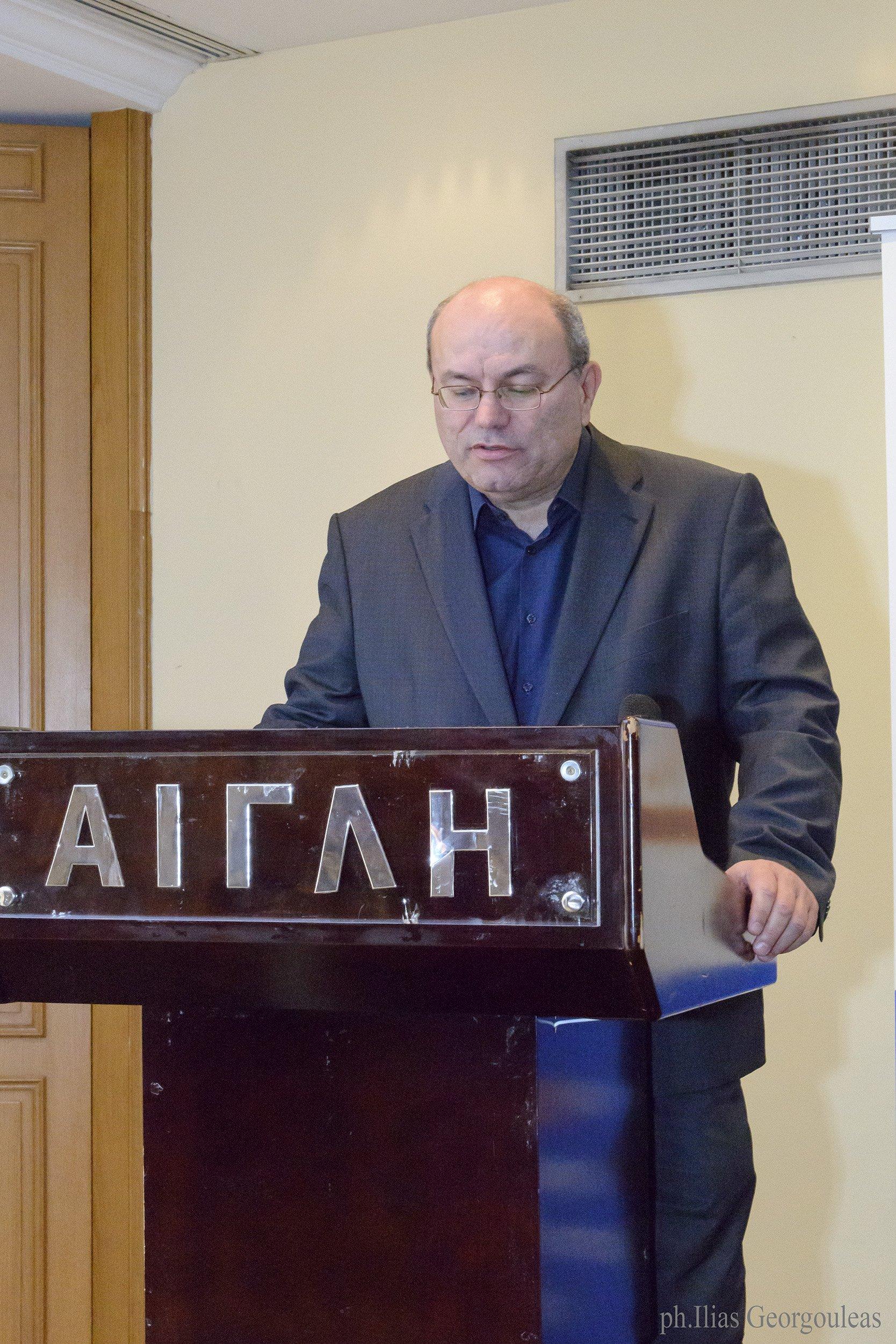 Ομιλία κου Μ. Φαλάγγα, Παθολόγου- Λοιμωξιολόγου