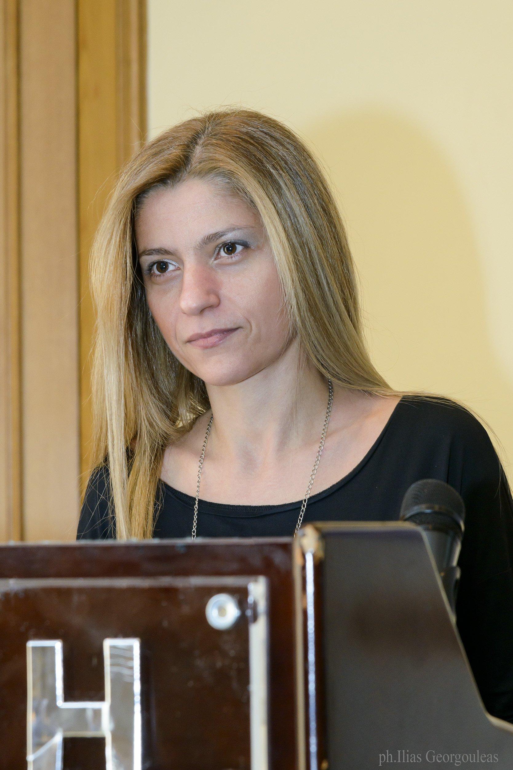 Ομιλία κας Χριστίνας Πλαστήρα, SOS Νευρολόγου