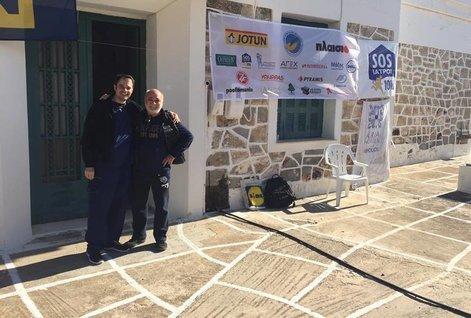 Οι SOS ΙΑΤΡΟΙ στην Κίμωλο